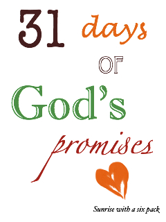 31 days of God's Promises