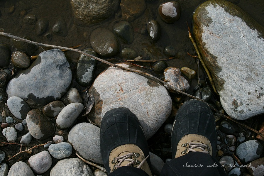 Boots in the River